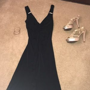 Rampage -Beautiful black hi-low dress. Size M ❤️